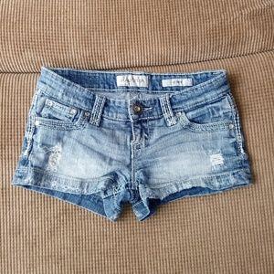 Daytrip Gemini jean shorts